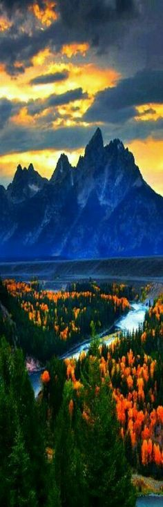 Snake River Overlook - Grand Teton National Park, western Wyoming.