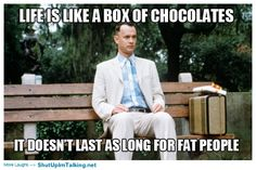 sad but usually true...but honestly if it's good chocolate...it'll be totally worth it