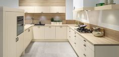 A traditional style of Pronorm kitchen but in a modern design that sets it off perfectly