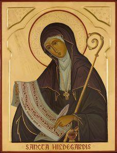 Hildegarda de Bingen la curandera que usó  remedios herbales durante los tiempos medievales