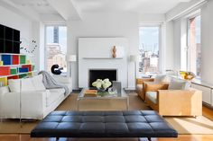 Ready for reinvention, the acclaimed architect has put his ultra-glamorous, design-filled New York City penthouse up for sale.