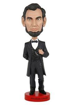 77e7476ec4d8e Official Abraham Lincoln Bobblehead