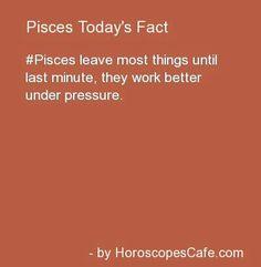 Pisces Daily Fun Fact Let's hope so. Pisces Daily, Aquarius Pisces Cusp, All About Pisces, Pisces Traits, Astrology Pisces, Pisces Quotes, Zodiac Signs Pisces, Zodiac Horoscope, Pisces