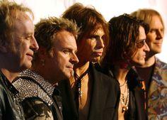 Aerosmith   Aerosmith: Steven Tyler, Joe Perry, Joey Kramer, Brad Whitford y Tom ...