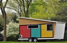 บ้านคอทเทจกระทัดรัด เล่นลวดลายและสีสัน มาในรูปรถบ้าน | NaiBann.com