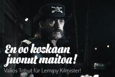 Valios Tribut für Lemmy Kilmister