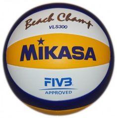 Piłka siatkowa Mikasa VLS300 - najwyższej jakości piłka do siatkówki plażowej zatwierdzona przez FIVB jako oficjalna piłka na Olimpiadę w Londynie w 2012 r. oraz Puchar Świata 2009-2012. $46