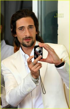adrien brody.  It's just something about those eyes and that dark hair.
