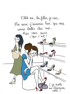 Girls, you know that I would also like you to come with me but you know how it is! Denise Maerker, Funny Quotes For Teens, Humor Grafico, Afro Art, Learn French, Wise Quotes, Portfolio, Funny Comics, Woman Quotes