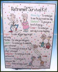 retirement survival kit - Google Search