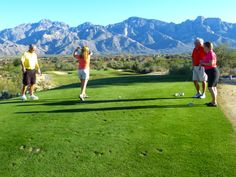 It's beautiful outside and a great day to golf at The Views Golf Club.