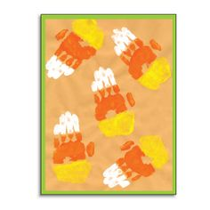 This candy corn looks good enough to eat. Candy Corn CORN - Marshmallow popcorn colored & shaped like candy corn with bits of candy corn can. Cute Crafts, Crafts To Do, Fall Crafts, Holiday Crafts, Crafts For Kids, Arts And Crafts, Holiday Decorations, Theme Halloween, Halloween Activities