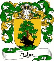 Colas Coat of Arms  Colas Family Crest   VIEW OUR FRENCH COAT OF ARMS / FRENCH FAMILY CREST PRODUCTS HERE
