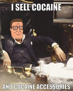 Hank Hill as Scarface
