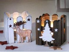 Best Diy Christmas Crafts For Kids Fun Popsicle Sticks 23 Ideas – - Dekoration Christmas Candles, Christmas Wood, Christmas Crafts For Kids, Christmas Projects, Holiday Crafts, Christmas Holidays, Popsicle Crafts, Craft Stick Crafts, Handmade Christmas Decorations