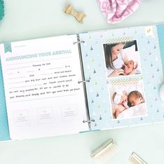 Our Baby Books are starting to arrive at the homes of excited mamas! Pre-order yours at EmilyLey.com