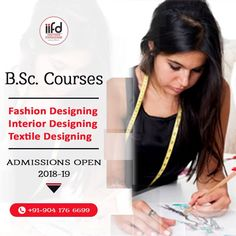 Best Fashion Design Institute in Chandigarh Are you looking for best fashion design institute in Chandigarh? Join Indian fashion institute who offers various type of degree diploma and master courses in fashion designing. Textile Courses, Fashion Designing Course, Seat Available, Fashion Courses, Textiles, Chandigarh, Indian Fashion, Cool Style, Career
