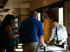 NTSI Operations Manager Alex Smith participates in the ACA (Arizona Courts Association) Conference in May 2012. Here, Alex describes to conference attendees the wide variety of courses and services available from NTSI. The conference is attended by Judges, Court Clerks and other court personnel.