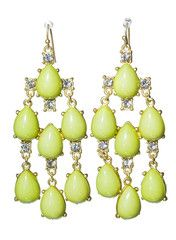 Lime Trinidad Earrings - Modeets.com  19USD
