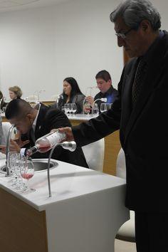 El profesor LLanos haciendo de anfitrión en el IDVIP.