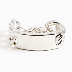 Chunky Silver Chain ID Bracelet from LaTor-Gray Designz for $5.00