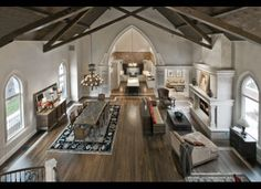 former Catholic church in Cherry Creek North has been converted into a large luxuriously home