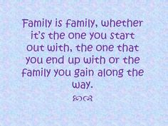 """Modern Family Quote--- love this. I think this is the best way to summarize how my """"family"""" has evolved."""