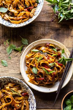 Better Than Takeout Thai Asian Drunken Noodles Zoodles- Half Baked Harvest Asian Recipes, Beef Recipes, Cooking Recipes, Healthy Recipes, Ethnic Recipes, Healthy Food, Veggetti Recipes, Recipies, Cod Recipes