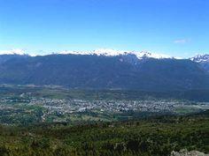 El Bolsón desde el Cerro Piltriquitrón. Ruta 40 Río Negro. http://www.turismoruta40.com.ar/elbolson.html