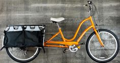 Electra Townie with Xtracycle conversion