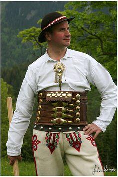 Góral ze Spisza. Folk Costume, Costumes, Visit Poland, Polish Folk Art, Highlanders, My Heritage, Northern California, Folklore, Machine Embroidery