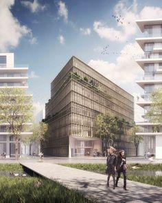 Kaufman & Broad Office Building Winning Proposal (2)