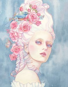 'Le Papillon Rose' by Tracy Lewis