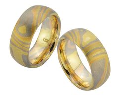 this is only for you 1 pieces all over the world its Unique hand made MOKUME GANE 18K Black+Yellow+Rose gold $1590