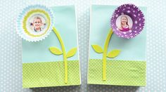 This easy to make Cupcake Line Photo Project makes the perfect gift for Mother's Day or any special occasion and will become a treasured keepsake.