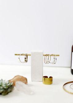 DIY Brass Ring Holder @themerrythought