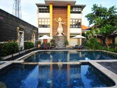 Bali Sandat Hotel Legian Indonesia, Asia Set in a prime location of Bali, Sandat Hotel Legian puts everything the city has to offer just outside your doorstep. Featuring a complete list of amenities, guests will find their stay at the property a comfortable one. All the necessary facilities, including free Wi-Fi in all rooms, 24-hour room service, Wi-Fi in public areas, car park, airport transfer, are at hand. Each guestroom is elegantly furnished and equipped with handy ameni...