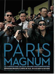 Paris Magnum à l'Hôtel de ville de Paris :  du 12 décembre 2014 au 28 mars 2015. C'est gratuit. https://jeunes.paris.fr/paris-magnum-la-capitale-par-les-plus-grands-photoreporters-lhotel-de-ville