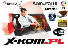 Tablet SHIRU Samurai 10 2x1.6GHz 16GB IPS HDMI ICS