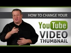 "How to Change YouTube Video Thumbnail - 2013 Tutorial (No Software Needed). Have you wondered how to change your YouTube Video Thumbnail?     In this tutorial, I""m going to show you how simple this really is, it's not that complicated.     Six easy steps to Change Your YouTube Video Thumbnail - Make It Custom! http://derraleves.com #YouTubeTraining #YouTubeTips"