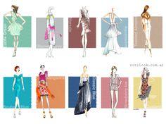 Colores de moda primavera verano 2016 – Argentina