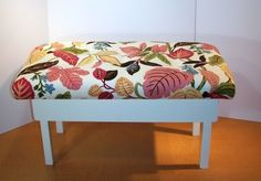 flipt studio: How to Make an Upholstered Bench Out of An Old Coffee Table