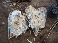 Handmade by Smilla: Текстильные сердца и кое-что из не показанного