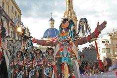 Fiestas de moros y cristianos. Foto: Jose Aguilar