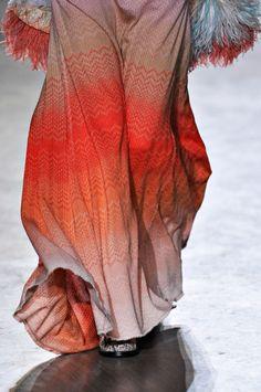 Blood Orange Threaded Skirt