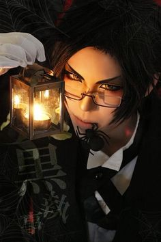 Claude Faustus of Black Butler (Kuroshitsuji) season II Black Butler Cosplay, Black Butler 3, Black Butler Anime, Male Cosplay, Best Cosplay, Cosplay Costumes, Anime Cosplay, Cosplay Ideas, Claude Faustus