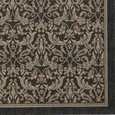 Seagrove All-Weather Indoor/Outdoor Rug - Gray - Ballard Designs