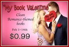 Clean reads AND Christian fiction.  http://bit.ly/mybookvalentine2018