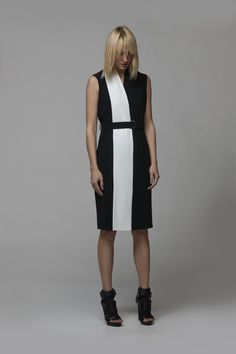 Платье VASSA & Co  #VogueRussia #readytowear #rtw #springsummer2016 #VASSACo #VogueCollections