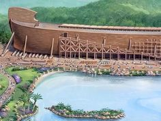 Noah's Ark is coming to Kentucky in less than two weeks. The life-size attraction is the closest in size to the legendary ship built during the flood as chronicled in the book of Genesis.  Ken Ham,